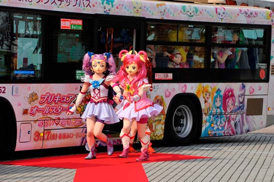 横浜市交通局「ラッピンバス」の人気投票に痛車がいる!