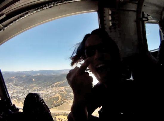 飛行機から落下した小型カメラGoProが8ヶ月後に発見!そこに写っていた衝撃映像