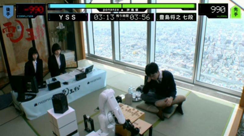 [ #shogi ] 電王戦第3局、豊島将之七段が快勝!プロ棋士がようやく1番返した!