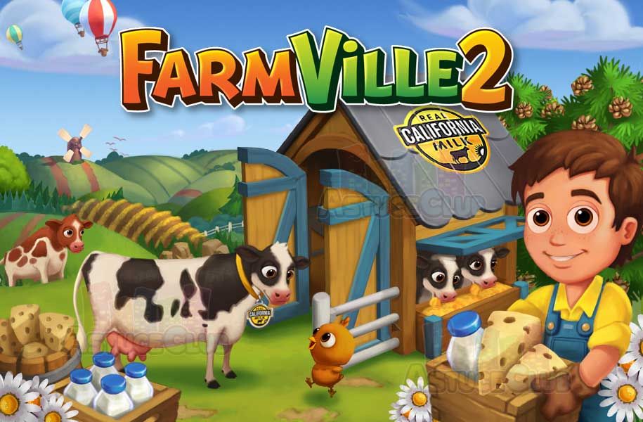 Facebookで大人気だった農園育成ゲーム「FarmVille」がスマホアプリで登場