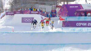 男子スキークロスで起きたミラクルな結末、それを大爆笑する解説者がウケる